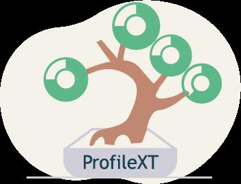 profile-xt roots bonsai tree illustration